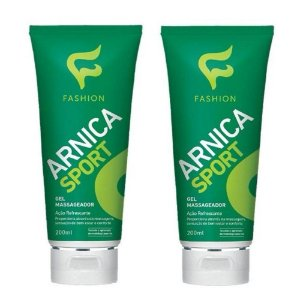 Gel Massageador Arnica Sport Fashion 200ml - Kit com 06 Unidades