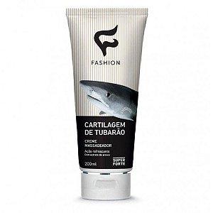 Creme para Massagem Cartilagem de Tubarão Fashion 200ml - Kit com 06 Unidades