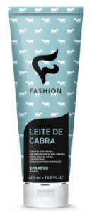 Shampoo Leite de Cabra Fashion 400ml - Kit com 06 Unidades