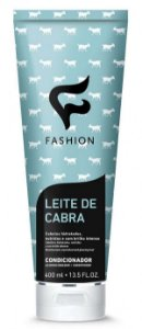 Condicionador Leite de Cabra Fashion 400ml - Kit com 06 Unidades