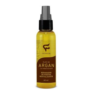 Óleo de Argan e Monoi do Tahiti Reparador de Pontas Fashion - 60ml - Kit com 06 Unidades
