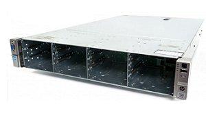 Servidor HP DL380e Gen8: 2x Xeon E5-2450L 8 core 64GB Sem HD