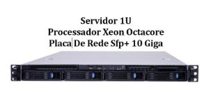 Servidor Chenbro RM13704: 2x Xeon E5-2650 8 core 32GB 480SSD