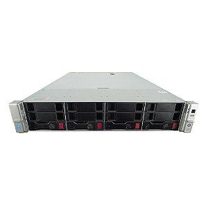 Servidor HP DL380p Gen9: 2x Xeon E5-2680 v3 64GB 2TB HD SATA