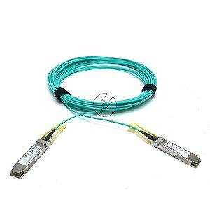 Cabo fibra óptica VO-Net QSFP28 para QSFP28 1AT-3Q4M15XX-01A