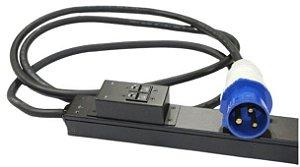 PDU Rack Basic Zero U 32A 230V, (20) C13 & (4)C19  / AP7553
