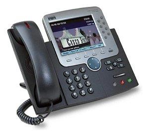 Telefone Cisco 7970 G - Unified IP Phone - Seminovo com Garantia 6 meses