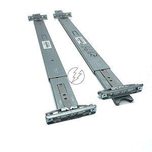 Par de Trilhos para Servidor HP DL380 G6 e DL380 G7 - 2U - Usado com Garantia - Otimo estado de uso - Uso em Rack
