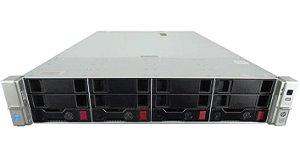 Servidor Hp Dl380 G9, 2 Xeon 12 Core, 64GB, 2x SAS 300 Giga