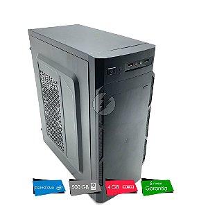 Pc Computador Core 2 Duo 3.0GHz + 4GB DDR3 + 500GB HD SATA - Desktop NOVO com GARANTIA - Excelente custo beneficio - PC NOVO