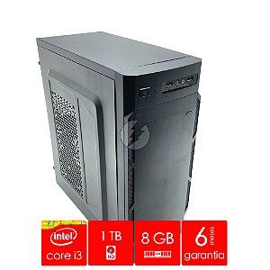 Computador Intel i3 8GB DDR3 + 1 Tera HD SATA + WiFi - NOVO - Adaptador WiFi - Processador i3 3,06GHz