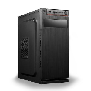 Micro Computador AMD 3.5GHz 4GB 120GB SSD com Áudio Codec Onboard - PC NOVO