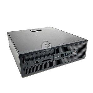 Computador HP EliteDesk A8 3,1GHz + 8GB DDR3 + 120GB SSD - Desktop Usado com Garantia de 6 meses - Ótimo custo - Gabinete moderno com visual clean