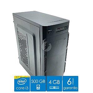 Computador Intel Core i3, 4GB DDR3 + 500GB HD SATA - Excelente custo