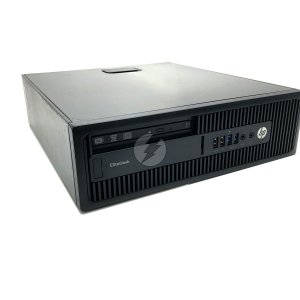 Computador HP EliteDesk A8 3,2GHz + 8GB + 1 Tera HD + Windows 10 - Desktop Usado com Garantia 6 meses - Processador AMD Radeon rende até 3,7GHz - Ótimo custo
