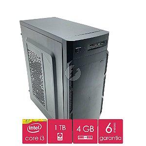 Computador i3 4GB + HD 1 Tera - Desktop NOVO