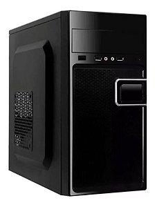 Computador Core 2 Duo 3.0GHz 8GB + 500GB HD + WiFi - Desktop NOVO - Adaptador USB WIFI