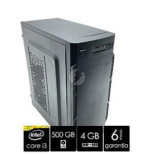 Computador Intel Core i3 4GB + HD 500GB - Desktop NOVO