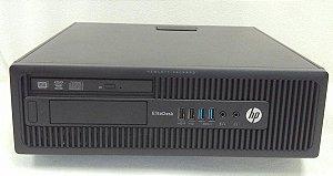 Computador HP Elitedesk A8 Pro 3,1GHz 8GB + SSD 120GB - Desktop Seminovo com Garantia 6 meses