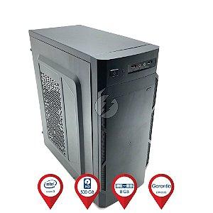 Computador i3 8GB DDR3 + 500GB HD - Desktop NOVO - Windows 10 - Ótimo Custo