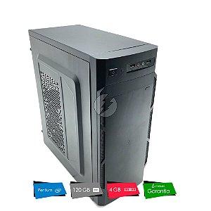 Computador Pentium Dual Core 3.1GHz 4GB + 120GB SSD - Pc Novo