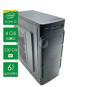 Computador p/ Roblox Core I3, 4gb, SSD 120gb - Novo