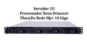 Servidor Chenbro RM13704: 2x Xeon E5-2650 SEM RAM SEM HD
