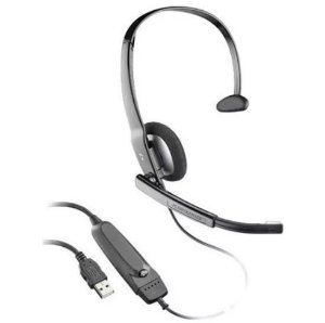 Headset Usb 615 Áudio Plantronics - Telefonia - Skype Etc