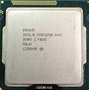 Processador Cpu Intel G645 - Soquet 1155 2.9 Ghz + Cooler