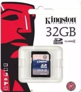 Cartão Memória Kingston - 32 Gb Sdhc || Sd4/32gb - Original