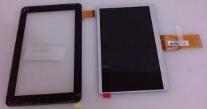 Kit Tela Display + Touch Tablet Cce Tr72 || 7300101463