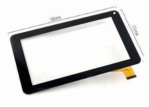 Tela Vidro Touch Tablet Cce Motion Tab Tr72 Kids 7 Polegadas