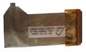 Cabo Flat Notebook C4500/4800 Lvds (c) C-43-c4801-090-1 A