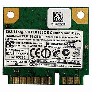 Placa Wireless Wifi Realtek Notebook Rtl8188ce