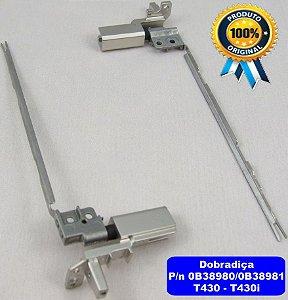 Dobradiça Lenovo Thinkpad T430 0b38980 0b38981 Notebook T430
