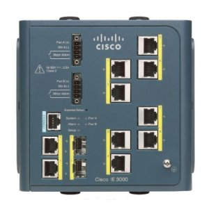 Switch Cisco Ie-3000-8tc - 10/100/1000mbps Industrial