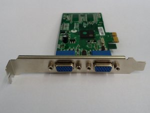 Placa Vídeo Thinetworks Tn 750 Dual Vga / 2 Vga Pci- Express