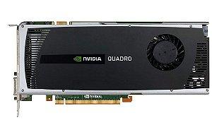 Placa de Vídeo Nvivia Quadro 3800 / 256 Bits 1GB PCI´e GDDR3