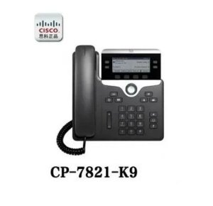 Telefone Ip Cisco Cp-7821 P/n: Cp-7821-k9