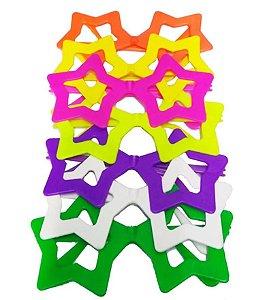 Óculos Estrela sem Lente com 10 Unidades
