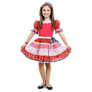 Vestido Junino Caipira Chic 39188
