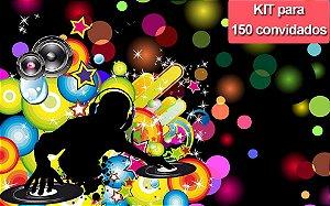 Kit Festa para 150 convidados