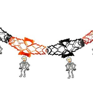 Guirlanda Decorativa Esqueleto Halloween