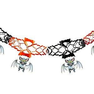 Guirlanda Decorativa Halloween Morcego