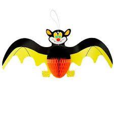 Enfeite Halloween Morcego Amarelo - XY2
