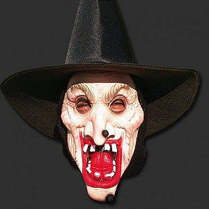 Máscara Bruxa com Capuz