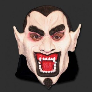 Mascara Dracula Latex com Capuz 10014