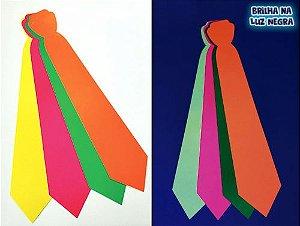 Gravata Cartonagem Neon  c/12