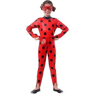 Fantasia Ladybug Macacão Longo - 35402