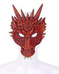 Mascara Dragão Luxo